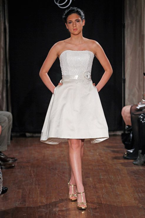 Short dress makes the list of trends by Colin Cowie.  Dan & Corina Lecca Photography, Sarah Jassir, Spring 2013
