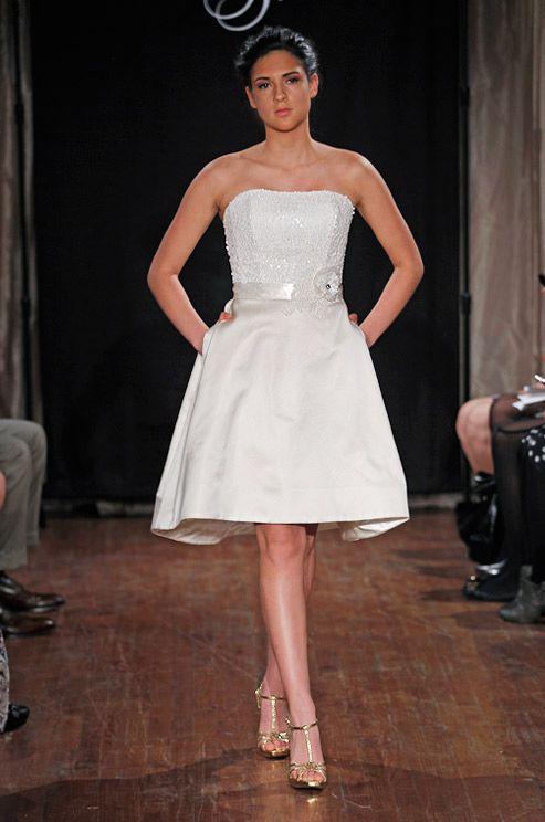 10 Best ideas about Short Bridal Dresses on Pinterest - Short ...