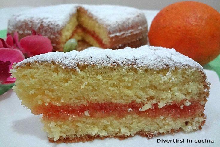 Ricetta torta all'arancia senza olio e senza burro Divertirsi in cucina