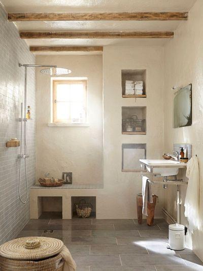 une salle de bain a litalienne esprit marocain - Salle De Bain Marocaine Photo
