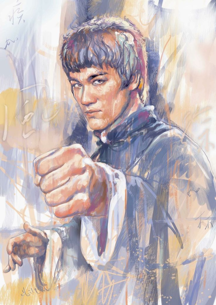 454 best images about bruce lee art on pinterest game of for Lee s painting