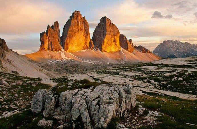 Tre Cime di Lavaredo , Italy