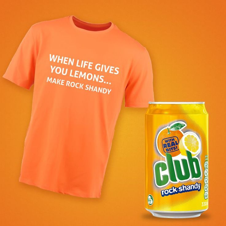 Club Rock Shandy to perfect combination of Lemon & Orange! Available in USA!