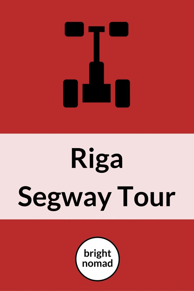 Riga Segway Guided Tour #riga #lativa #travel #segway