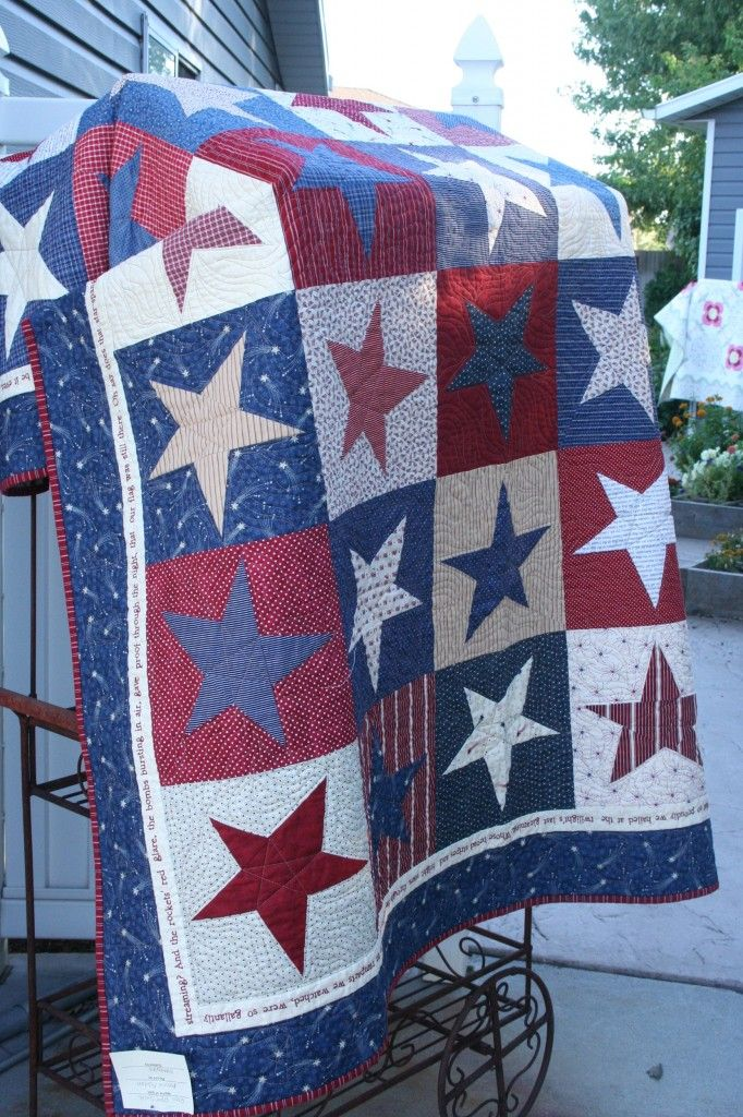 Best 25 American Flag Quilt Ideas On Pinterest Red