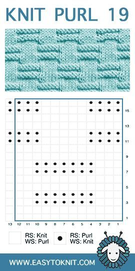 Easy To Knit: knit-purl