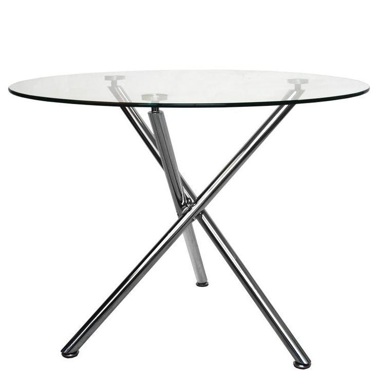Las 25 mejores ideas sobre mesa redonda cristal en - Mesa redonda de cristal ...