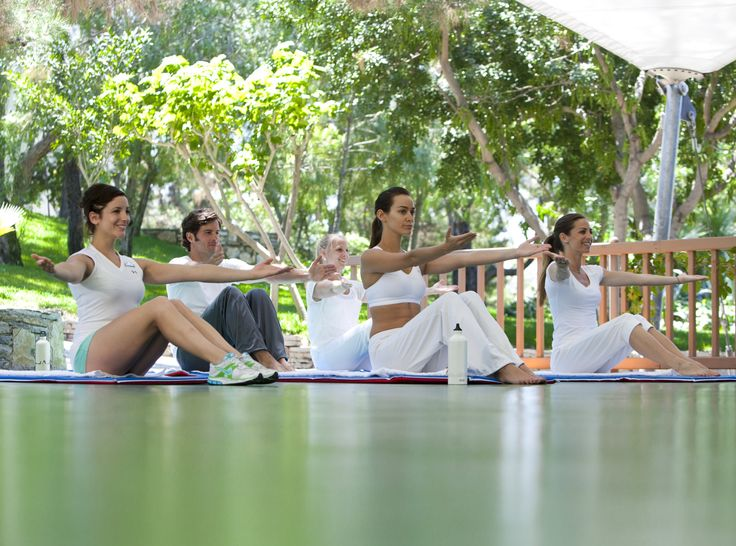 Enjoy specialised classes designed by international relaxation experts...just perfect!