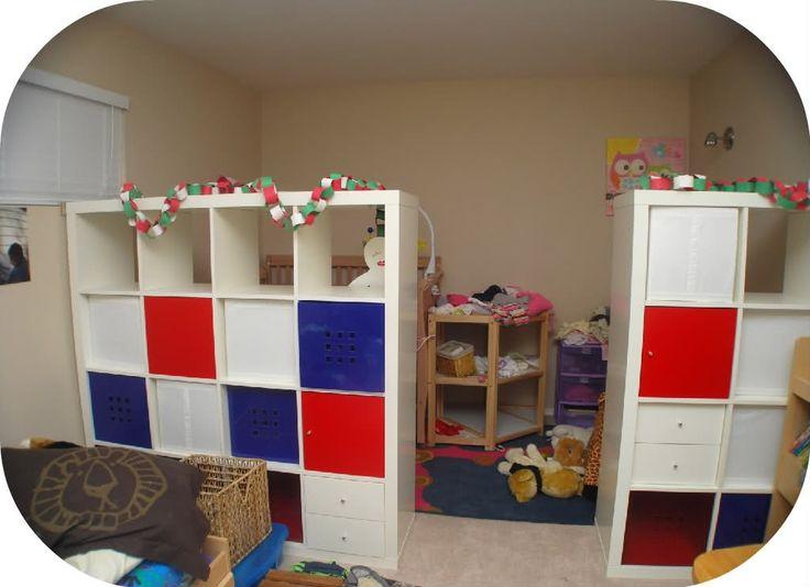 25 best images about kids room divider on pinterest for Room dividers kids
