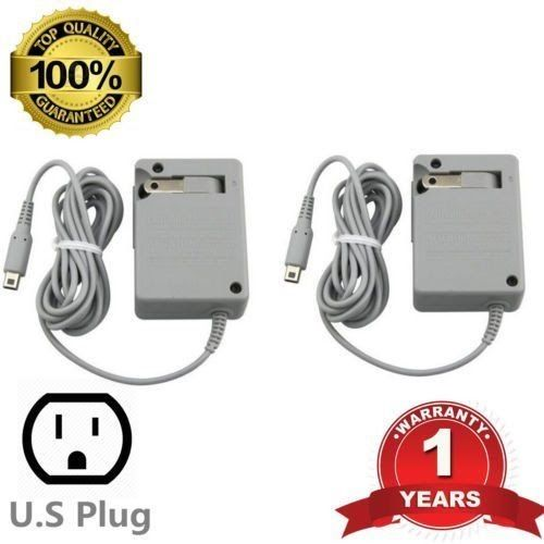 2X AC Adapter Wall Home Travel Charger for Nintendo DS / XL/3DS/ XL US@MX