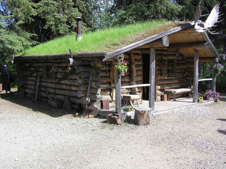 Small Cabins For Remote Living Athabascan Indian Village