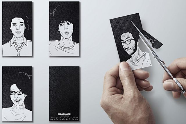Super Cool & Creative Business Cards | Abduzeedo | Graphic Design ...