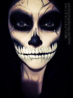 Scary Skeleton For Halloween #Halloweentip
