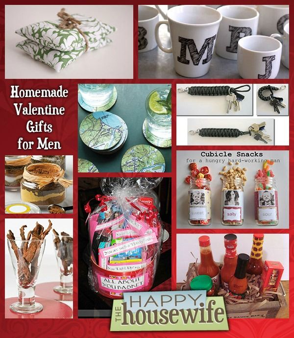 14 Homemade Valentine Gifts for Men | The Happy Housewife