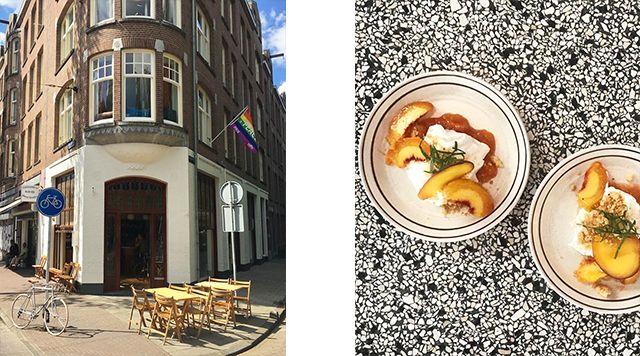 Café binnenvisser is een echt Amsterdams café. In een nieuw jasje that is. Met frisse verf en frisse koppen achter de bar. Met goed bier, nog betere