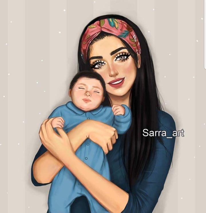 Imagen Descubierto Por N2srin 3bd Descubre Y Guarda Tus Propias Imagenes Y Videos En We Heart It In 2021 Mother Daughter Art Mother Art Mom Art