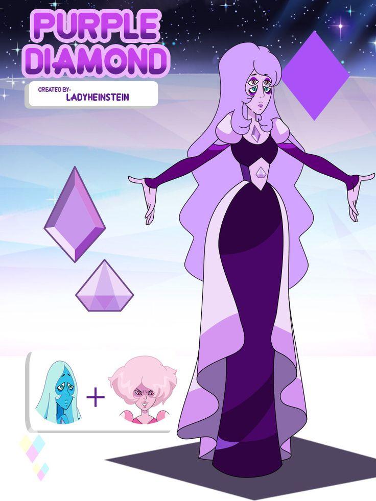 purple diamond blue diamond pink diamond steven