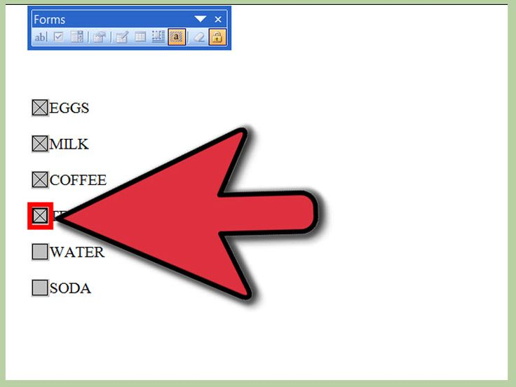 How+to+Insert+a+Check+Box+in+Word+--+via+wikiHow.com