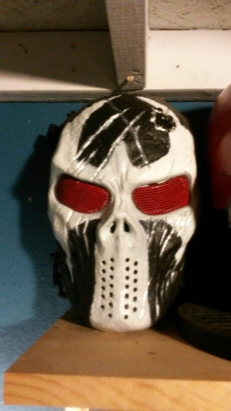 Bane mask after paint