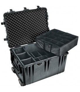Pelican - 1614 Large Case with padded dividers on Wheels