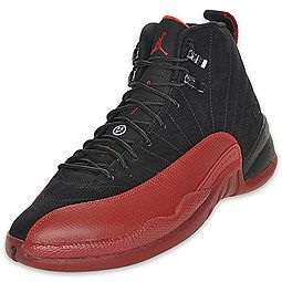 "Air Jordan Retro 12 Men's Basketball Shoe  Ever heard of the ""Flu Game"" when Michael Jordan went off for 37 points, against the Utah Jazz in the '97 NBA Finals, while suffering from a stomach virus and fever set on from the Flu? The Air Jordan XII is back as a retro, paying tribute to one of the greatest performances we've ever seen in sports. The AJ 12 features a Phylon midsole with a full-length Zoom Air unit, 3/4-length carbon fiber shank, and modified herringbone outsole."