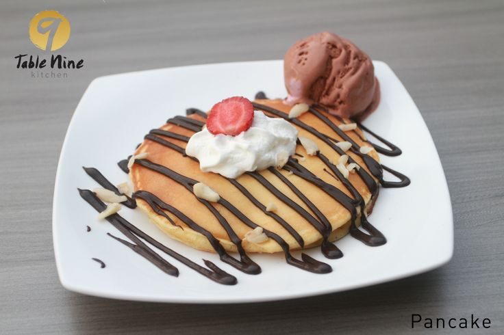 Pancake Table Nine Kitchen Resto