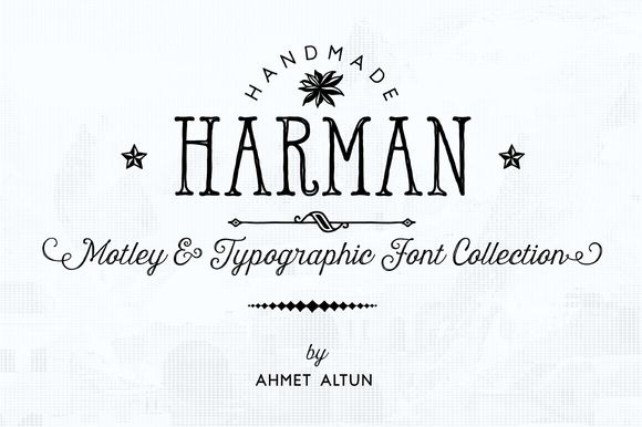 Check out Harman Font Pack 84%OFF by aatype on Creative Market