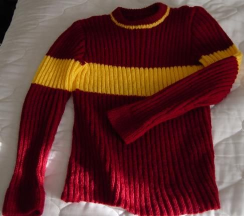 Quidditch Sweater Perfect Crafts Knitting Harry Potter Knit