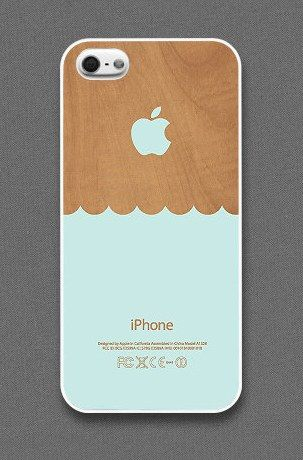 Wood Waves iPhone Case