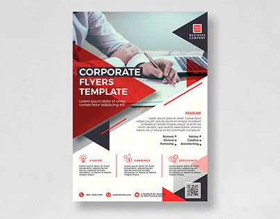 check out new work on my behance portfolio free flyer template 01