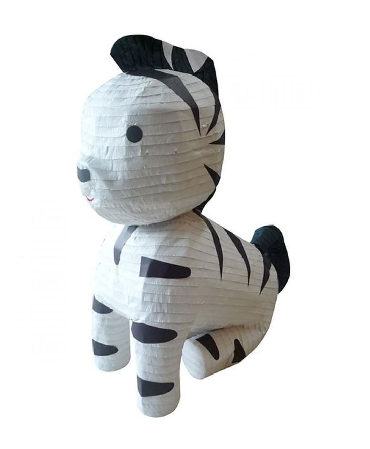 Pinata Zebra Char & Coll , cute pinata with black and white color, made from good material, cute little pinata for a birthday decoration or ass a gift, every purchase of Char & Coll pinata free Pinata stick.  http://www.zocko.com/z/JIqjO