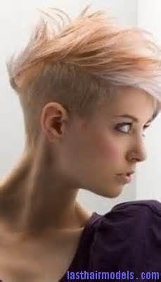 short crazy girl hair styles