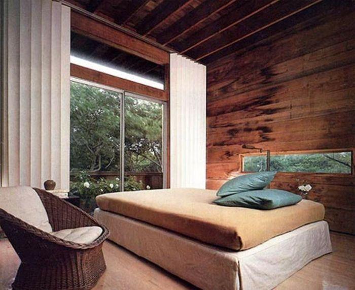 kreative wandgestaltung holzverkleidung innen deko ideen htte - Gemutliche Holzverkleidung Innen