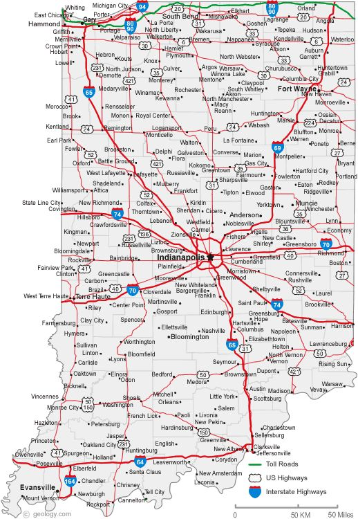 Best Indiana Cities Ideas On Pinterest Indiana State Us Map - Indiana state on us map