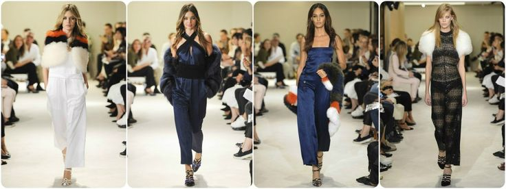 Faux fur fashion spring/summer 2015 - Sonia Rykiel