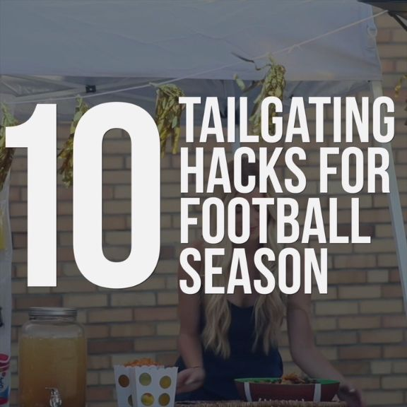 10 Ways to Master Your Football Tailgate