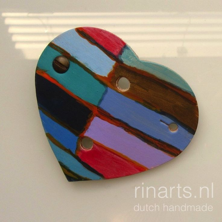 HEART cable organizer, abstract  Art series