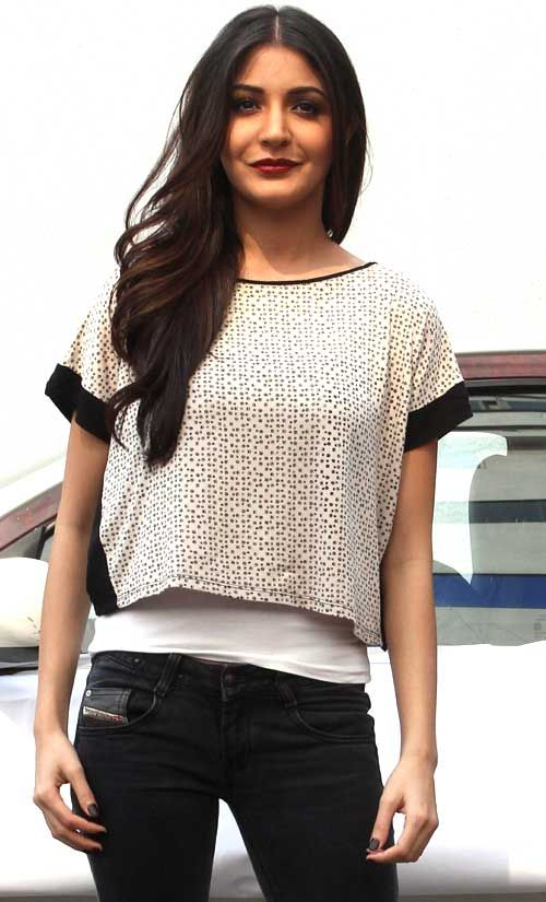 Anushka Sharma #Bollywood #Fashion #Casual