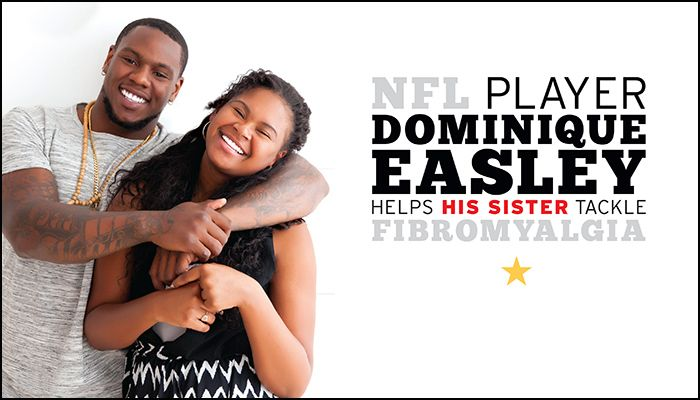 Dominique Easley - While cultivating his starting role with the patriots over the last year, Easley has also been channeling a different kind of strength off the field. Through Easley's awareness, the NFL defensive tackle is raising funds and awareness for fibromyalgia, a disease that became personal for Easley in 2011.  Entire article online at our website!