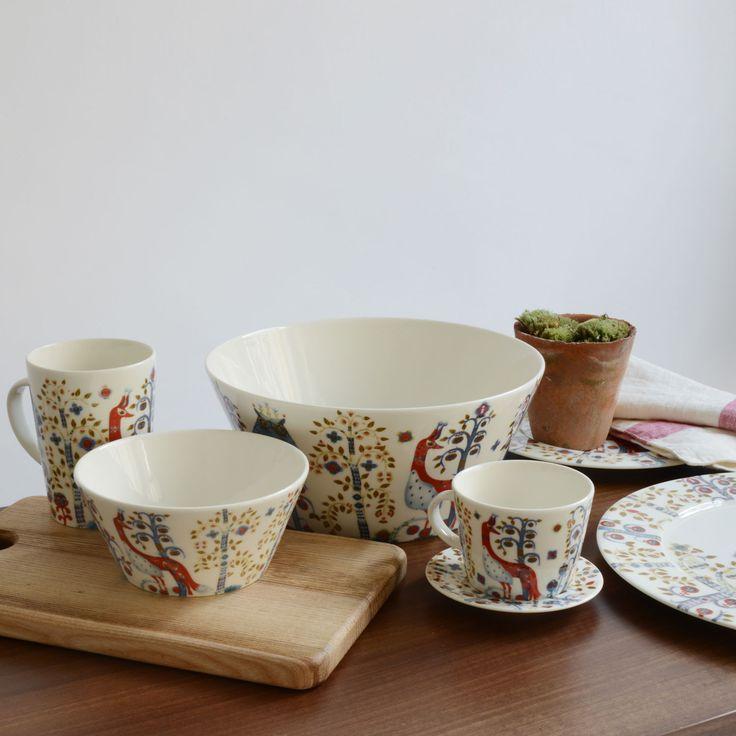 Iittala Taika White Table Top Range | Decorated Dinnerware | Dinnerware | Dining Room | Heal\u0027s & 204 best Inspiration | Table Top | Dinnerware images on Pinterest ...