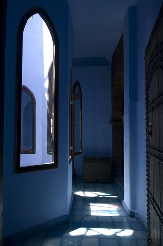 Chefchaouen, Morocco; photo by Annie Griffiths Belt.
