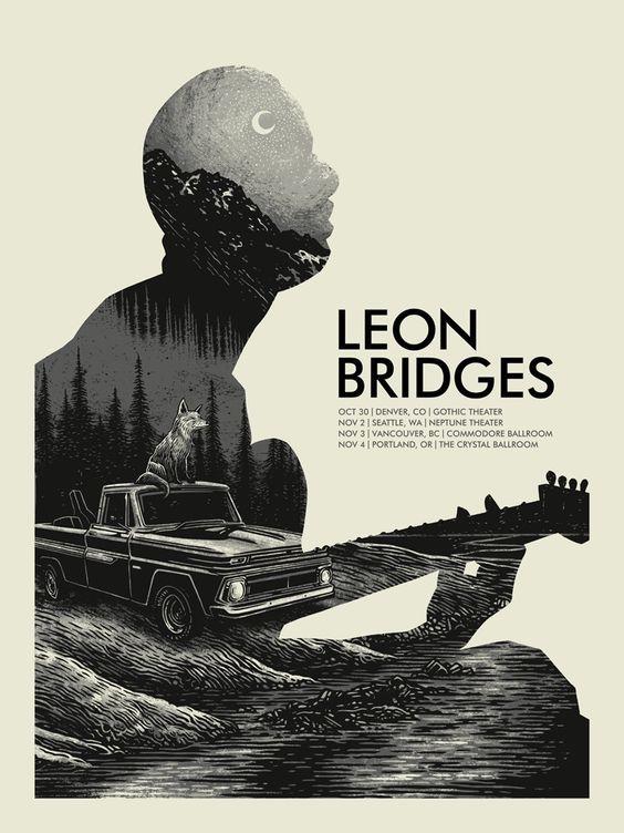 Leon Bridges Poster by John Vogl