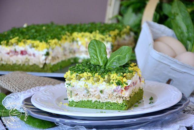 kuchnia w czekoladzie: Sałatka tortowa