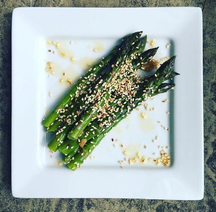 Asparagus fresh from our garden