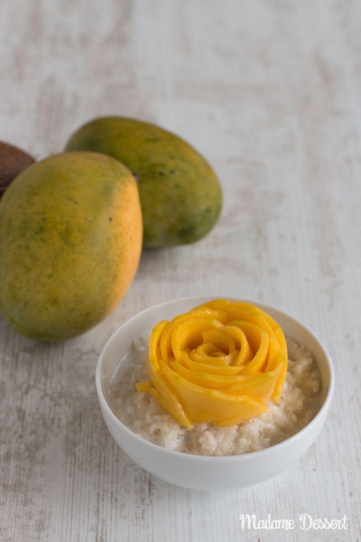 Mango mit Sticky Rice – Original Rezept für den Dessert Klassiker aus Thailand |Heute nehme ich euch mit auf eine kleine Reise in die Vergangenheit. 2013 sind wir für 6 Monate kreuz und quer durch Südostasien getingelt, bei der ich mich Hals über Kopf in eine traditionelle, thailändische Süßspeise verliebt habe.