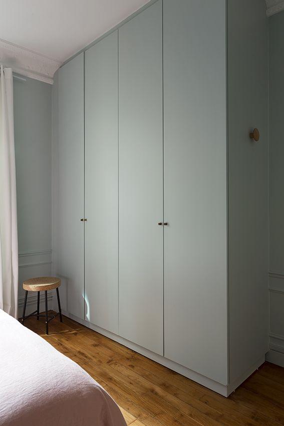 Armoire Chambre Appartement Haussmannien Paris 18e