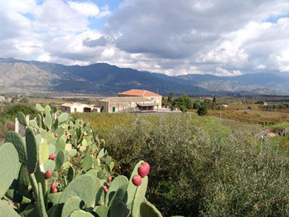 Etna Wine Agriturismo in Castiglione di Sicilia.  This may be what I miss the most.
