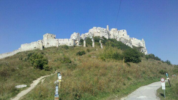 Spišský hrad ve městě Spišské Podhradie, Prešovský kraj