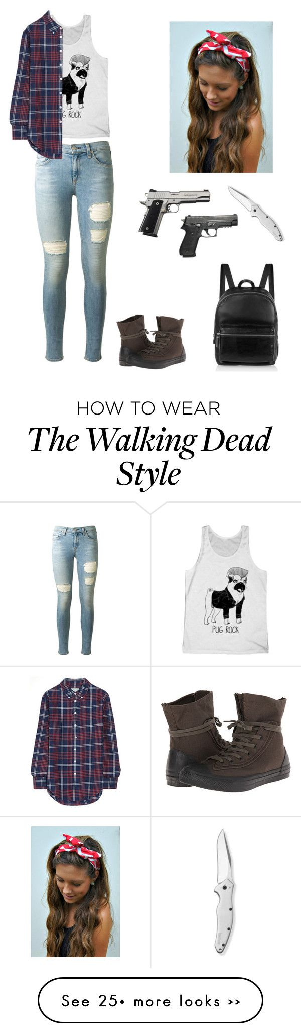"""""""If I were in the walking dead"""" by im-to-fab-for-this-gurl on Polyvore"""