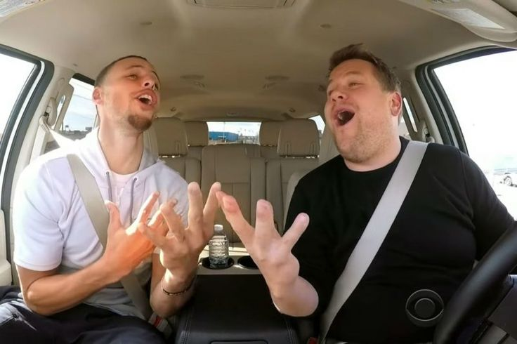 Watch Warriors star Steph Curry belt out some Frozen and Moana Tunes   Two-time MVP and all around NBA nice guy Steph Curry has solidly staked his claim asone of the most liked players currently in the NBA. His silky smooth shooting haskids around the world mimicking his seemingly unlimited range on the court. So he really didnt need to participate in a Carpool Karaoke with James Cordon where he sings not one but two songs from two of the most popular Disney films in recent history but he…